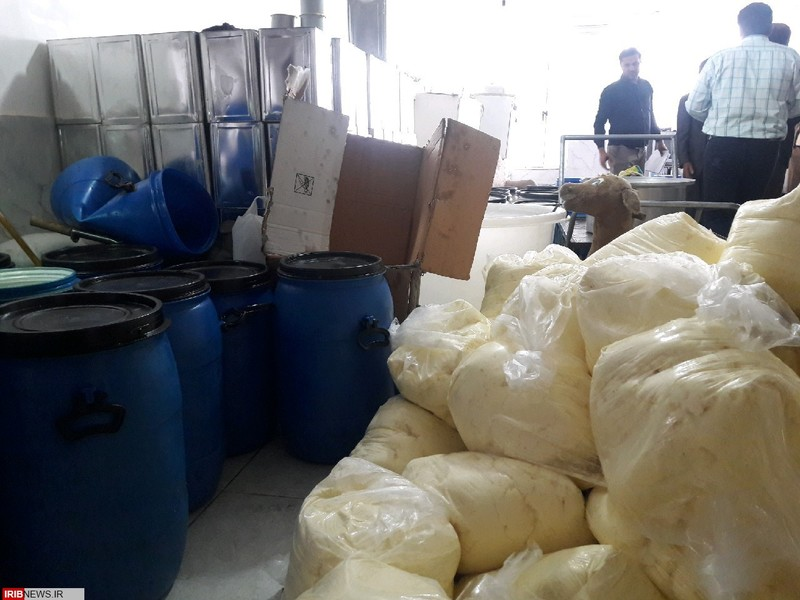 2 تن روغن حیوانی غیربهداشتی در کرمانشاه کشف شد