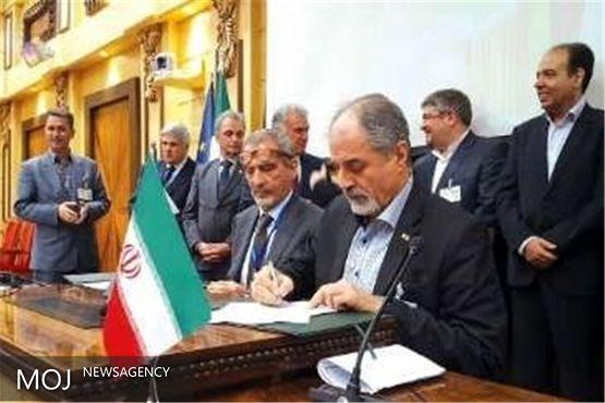 قرارداد فروش گاز همراه نفت به بخش خصوصی در اهواز منعقد شد