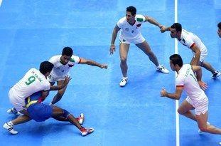 تیم کبدی ایران تایلند را شکست داد