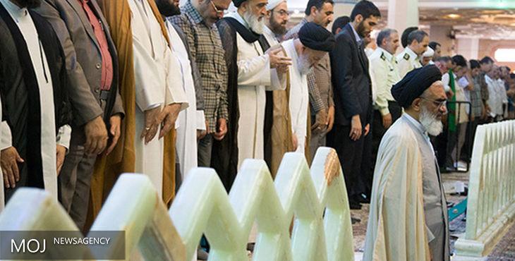 نماز عید فطر در حرم مطهر حضرت معصومه(س) به امامت آیت الله سعیدی اقامه می شود