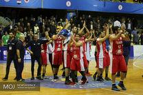 پیروزی تیم ملی بسکتبال ایران مقابل عراق