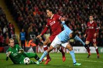 نتیجه بازی لیورپول و منچستر سیتی/ لیورپول به جمع 4 تیم برتر لیگ قهرمانان راه یافت