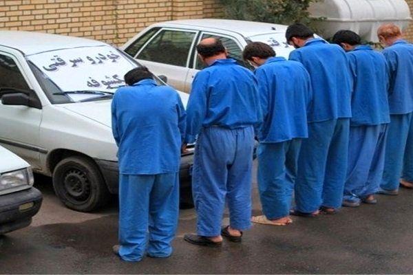 باند سرقت و سند نمره خودرو در چنگال قانون