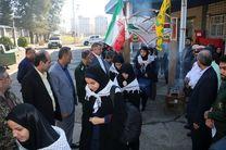 دانش آموزان دختر نواحی یک و دو رشت به اردوی راهیان نور اعزام شدند