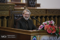 نشست خبری رییس مجلس شورای اسلامی