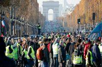 ادامه ایستادگی جلیقه زردها/ یک کشته و بیش از چهارصد زخمی در تظاهرات فرانسه