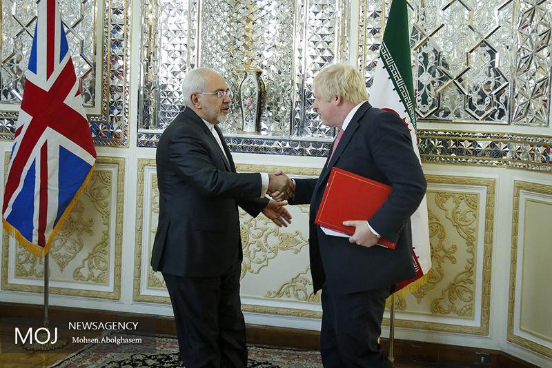 مذاکرات دو جانبه وزیران امور خارجه ایران و انگلیس آغاز شد