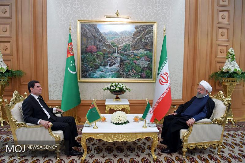 بیانیه مشترک ایران و ترکمنستان منتشر شد