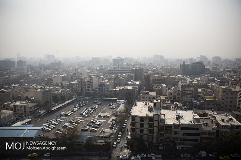 کیفیت هوای تهران در 6 دی 97 ناسالم است