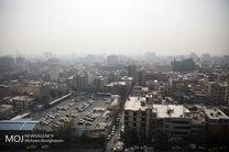 کیفیت هوای تهران در 5 بهمن 97 ناسالم است