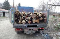 کشف و ضبط ۶ تن چوب قاچاق در سوادکوه شمالی