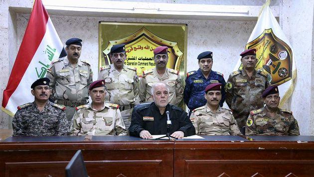 العبادی فرمان آغاز عملیات آزادسازی غرب الانبار را صادر کرد