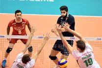 پیروزی ایران برابر بلغارستان / ۳ امتیاز ارزشمند والیبالیست ها