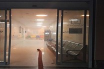 دودگرفتگی در بیمارستان کودکان بندرعباس آسیبی نداشت
