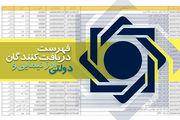 فهرست دریافتکنندگان ارز نیمایی و دولتی به روزرسانی شد