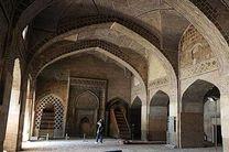 آغاز مرمت بام مسجد جامع اصفهان