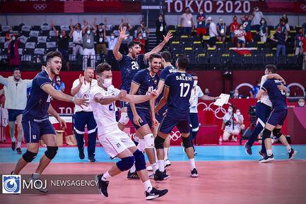 المپیک توکیو رقابت های تیراندازی و والیبال