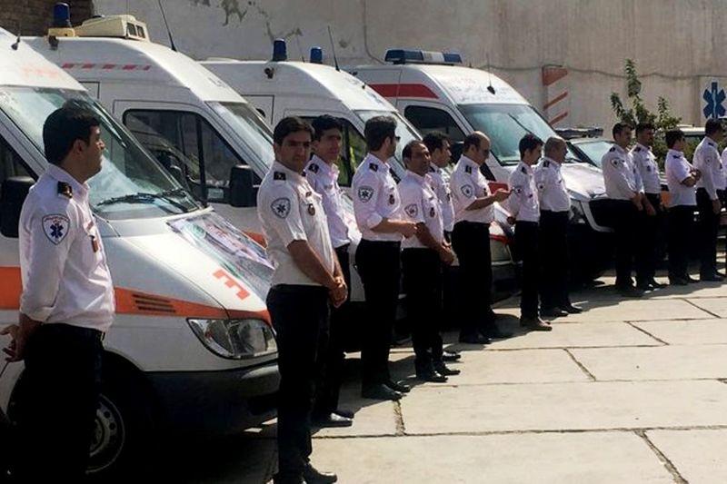 زایمان 10 زن هرمزگانی در آمبولانس