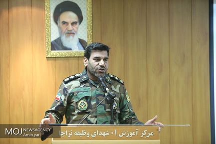 بازدید فرمانده نیروی زمینی ارتش از آموزشگاه ۰۱ شهدای وظیفه