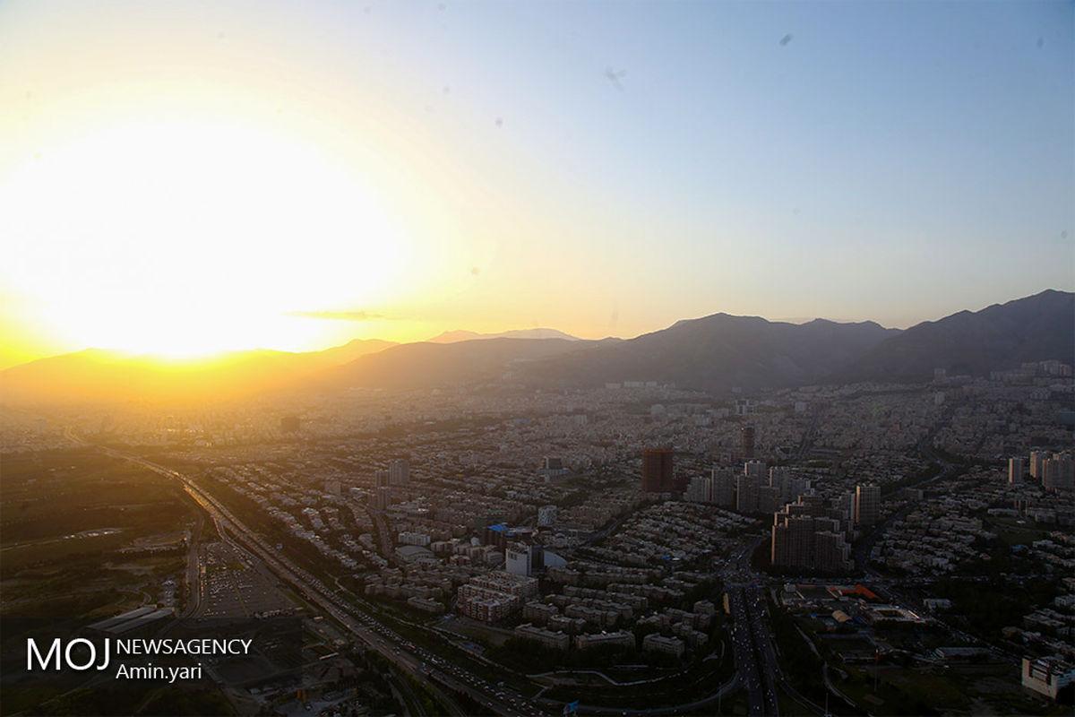 کیفیت هوای تهران ۲۱ فروردین ۱۴۰۰/ شاخص کیفیت هوا به ۹۳ رسید