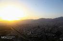 کیفیت هوای تهران ۳۰ فروردین ۱۴۰۰/ شاخص کیفیت هوا به ۷۸ رسید