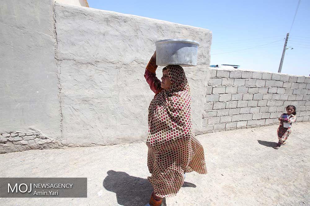 طرح نذر آب در روستاهای سیستان و بلوچستان