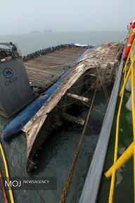 بازگشت بقایای کشتی سئول به سطح آب پس از سه سال