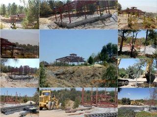 متوقف شدن ساخت و ساز غیر مجاز در دهکده سد زاینده رود اصفهان