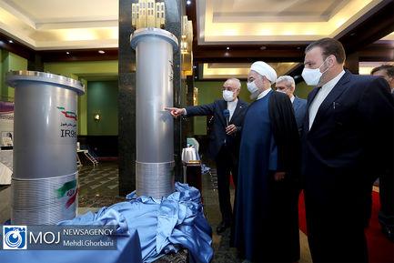 رونمایی و بهرهبرداری از دستاوردهای هسته ای کشور
