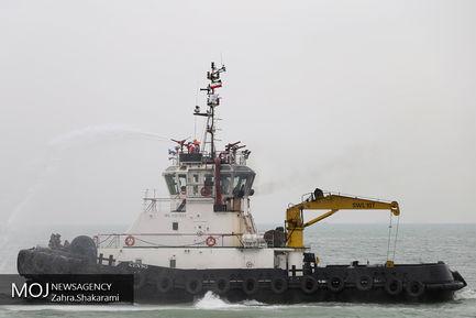 مانور امداد، نجات و جستجوی دریايى در آب هاى خليج فارس