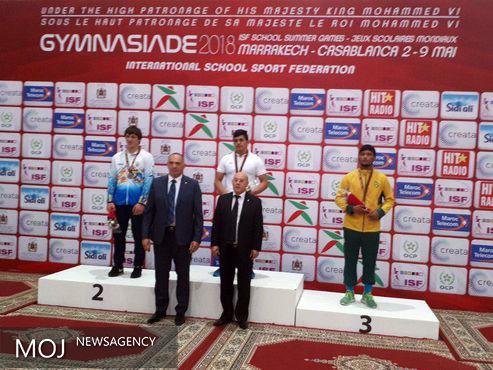 کسب 3 نشان طلا و یک نقره، حاصل تلاش تیم کشتی پارساندیش لرستان در رقابتهای جهانی مراکش