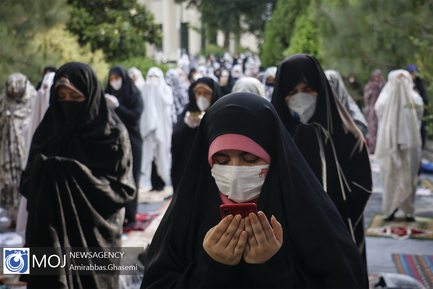 نماز عید سعید فطر در دانشگاه تهران