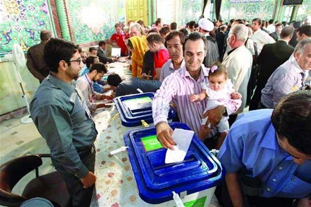 حضور مردم در ساعات ابتدای رای گیری در هرمزگان