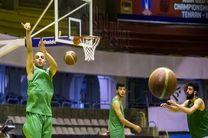 برتری دو کوارتری بسکتبال ایران مقابل فیلیپین