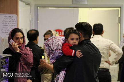 مصدومان چهارشنبه سوری 96 در اصفهان