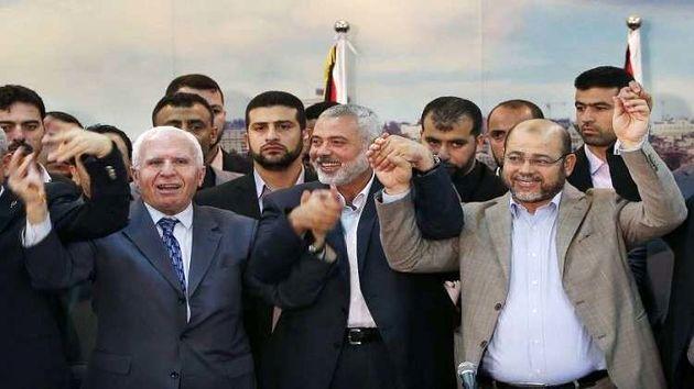 اسماعیل هنیه از توافق نهایی فتح و حماس خبر داد