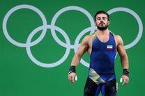 احتمال غیبت کیانوش رستمی در مسابقات وزنه برداری قهرمانی جهان