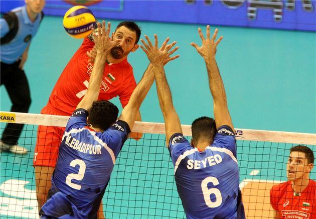 نتیجه بازی والیبال ایران و بلغارستان/ پیروزی ایران مقابل بلغارستان