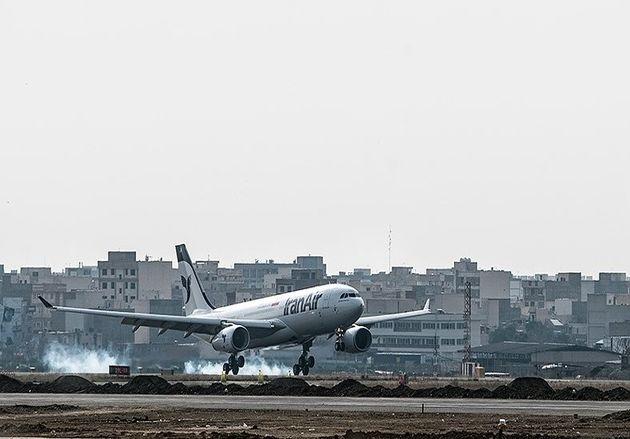 ترکیدگی تایر سمت راست هواپیمای مشهد-اردبیل؛ 163 مسافر جان سالم به در بردند