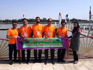 آب منطقه ای اصفهان بر سکوی سوم رقابت های جت اسکی قهرمانی کشور ایستاد
