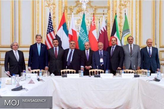نشست وزرای خارجه کشورهای حاشیه خلیج فارس، آمریکا و انگلیس