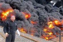 داعش ۵ چاه نفتی عراق را به آتش کشید