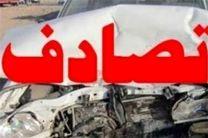 8 مصدوم دراثر تصادف تریلی با یک خودرو سرویس مدرسه در قهدریجان