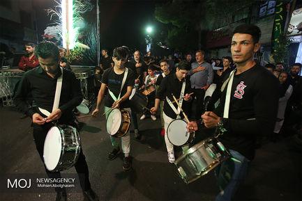 عزاداری شب تاسوعای حسینی در محله هنگام