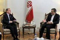 جابری انصاری با نماینده ویژه فرانسه در امور سوریه دیدار کرد