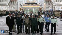 تجدید بیعت نیروهای مسلح با آرمان های بنیانگذار انقلاب اسلامی