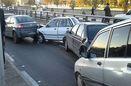 تصادف 26 خودرو در اتوبان قزوین کرج/ 6 نفر راهی بیمارستان شدند