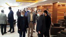 رئیس کمیته ملی المپیک از محل فدراسیون کشتی بازدید کرد