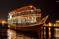برگزاری آئین نوروزگاه و گردشگری دریایی با لنج در هرمزگان
