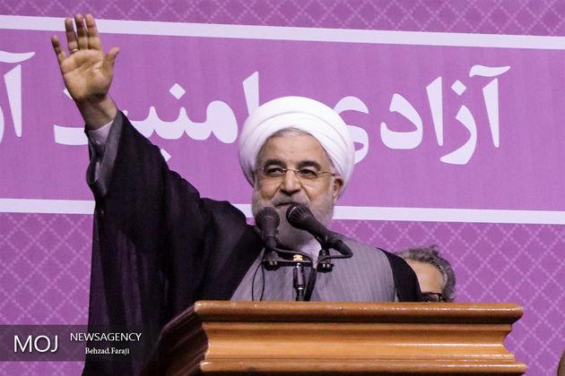 حسن روحانی دوشنبه به مازندران سفر می کند